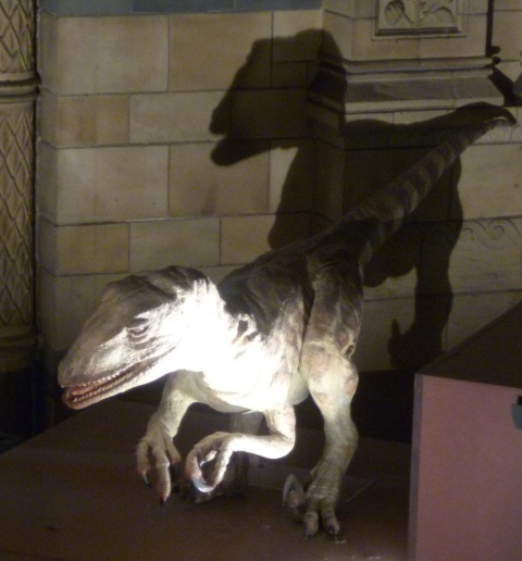 Dinozaur Czeka Na małych Inwestorow by ich schrupać