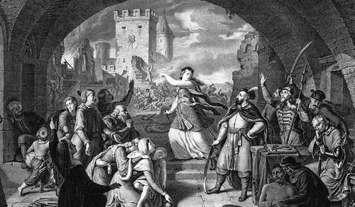 Oblężenie Trembowli (Anna Dorota Chrzanowska)