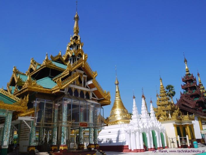 Pagoda w Mjanmie